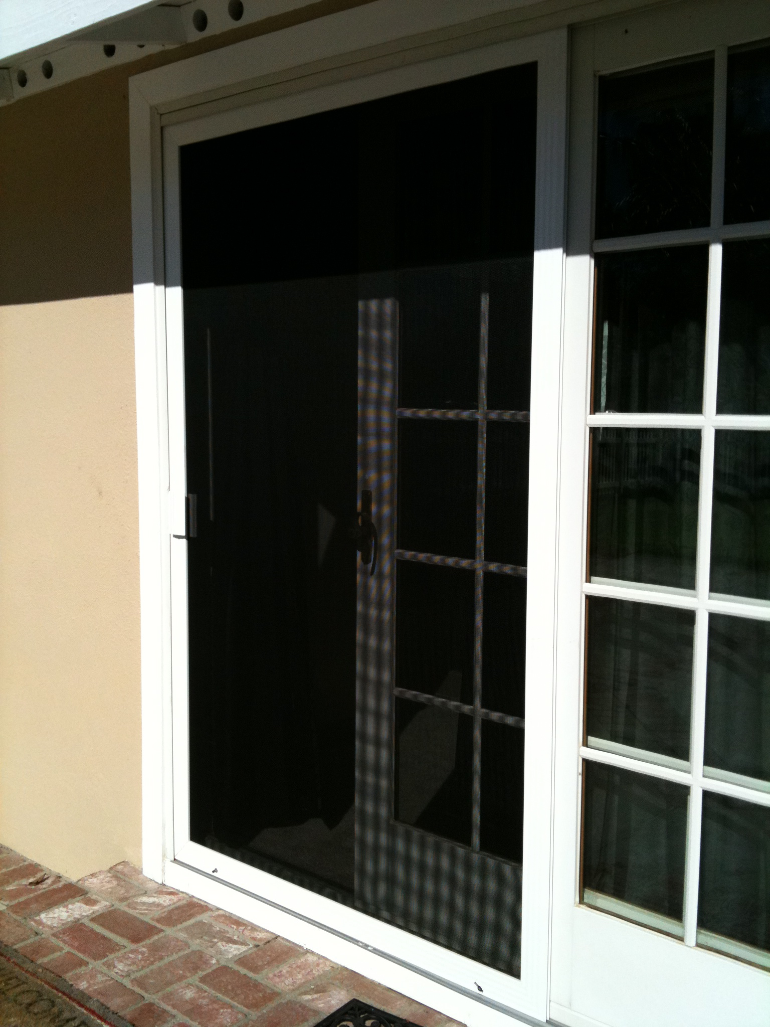 New Sliding Screen Door Installation In Oak Park Screen Door And