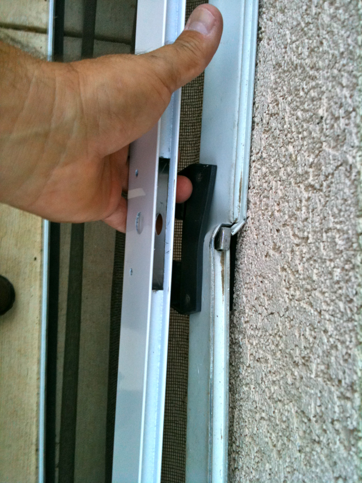 Time to replace sliding screen door in thousand oaks for Sliding screen door frame