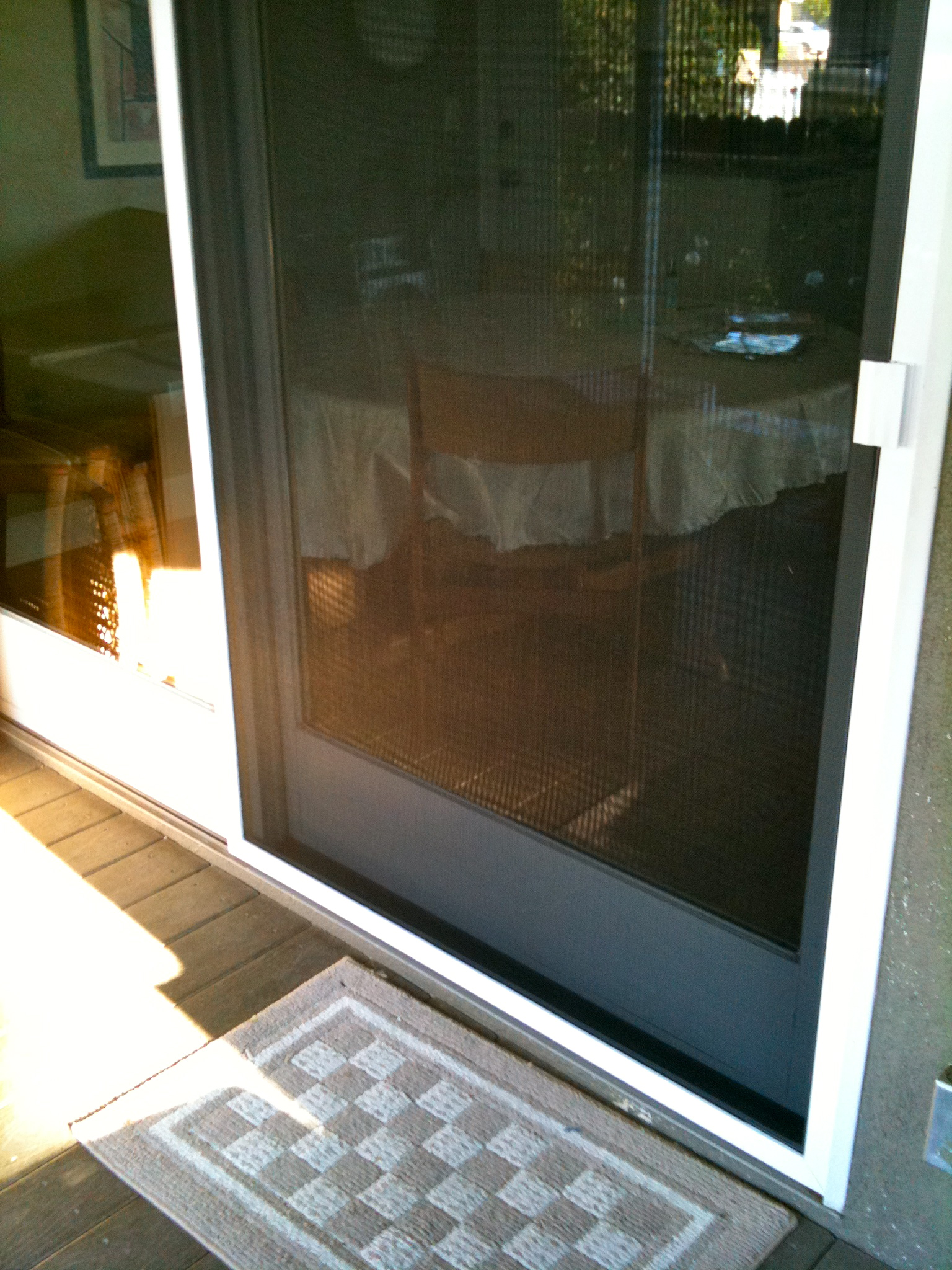 Calabasas screen doors screen door repair replace for Door window replacement