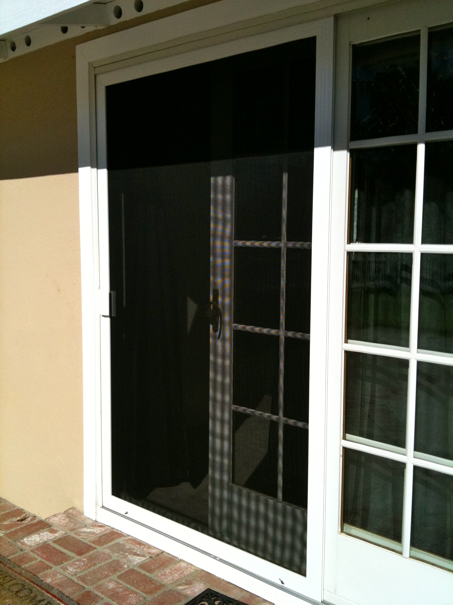 Replacement window screens finest retractable window for Replace window with door
